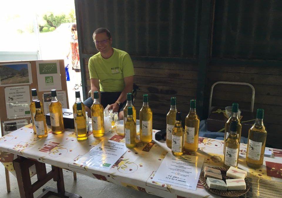 Huiles d'olive vendredi 2 septembre 2016
