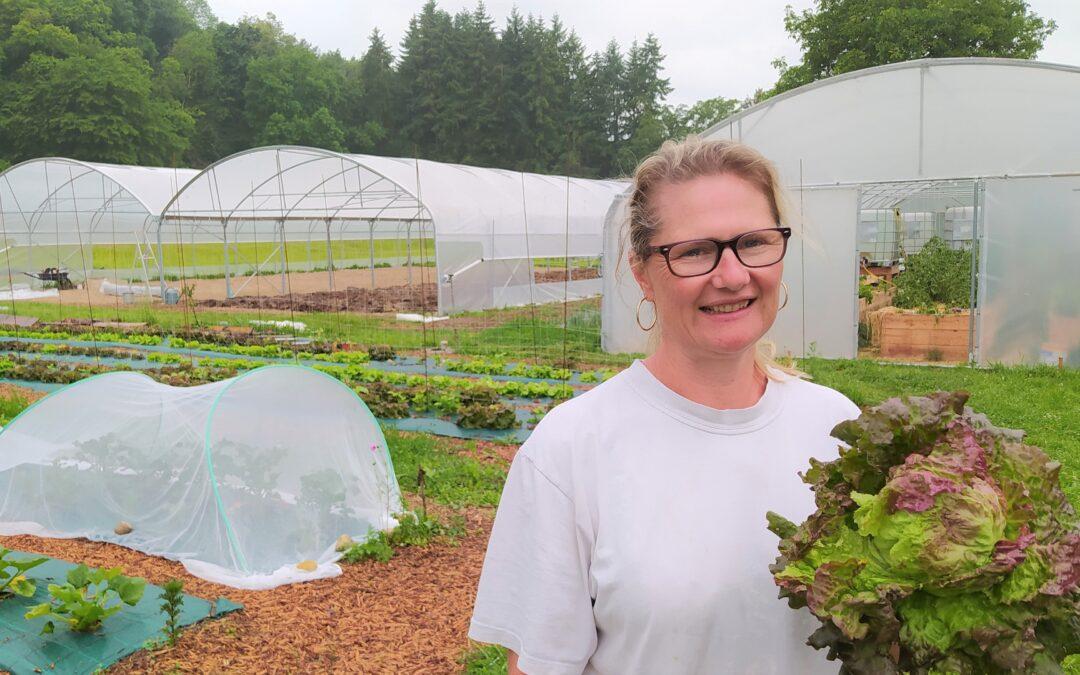 Une nouvelle productrice de légumes bio sur notre marché : Mariluce Loiseau, à partir de vendredi 11 juin 2021